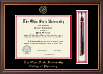 The Ohio State University Diploma Frame - Tassel Edition Diploma Frame in Newport