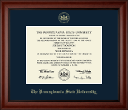 Pennsylvania State University Diploma Frame - Gold Embossed Diploma Frame in Cambridge