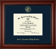 Saint Ignatius High School Diploma Frame - Gold Embossed Diploma Frame in Cambridge