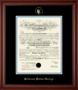 Thomas Jefferson University Diploma Frame - Gold Embossed Diploma Frame in Cambridge