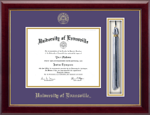 University of Evansville Diploma Frame - Tassel Edition Diploma Frame in Gallery