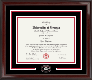 The University of Georgia Diploma Frame - Spirit Medallion Diploma Frame in Encore