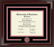 University of Louisiana Lafayette Diploma Frame - Spirit Medallion Diploma Frame in Encore