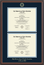 Double Diploma Frame in Regency
