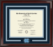 University of North Carolina Chapel Hill Diploma Frame - Spirit Medallion Diploma Frame in Encore