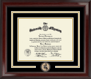 University of Wyoming Diploma Frame - Spirit Medallion Diploma Frame in Encore