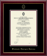 Westminster Theological Seminary Certificate Frame - Gold Embossed Certificate Frame - Master's / PhD in Gallery