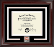 Oregon State University Diploma Frame - Spirit Medallion Diploma Frame in Encore