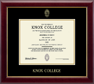 Knox College Diploma Frame - Gold Embossed Diploma Frame in Gallery