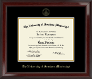 Gold Embossed Edition Diploma Frame