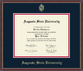 Augusta State University Diploma Frame - Gold Embossed Diploma Frame in Kensit Gold
