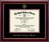 Baptist College of Florida Diploma Frame - Gold Embossed Diploma Frame in Gallery
