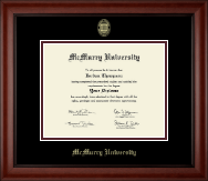 McMurry University Diploma Frame - Gold Embossed Diploma Frame in Cambridge