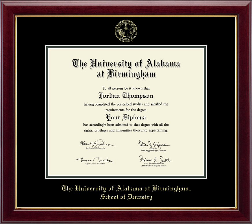 Fine University Of Alabama Diploma Frame Picture Collection - Framed ...