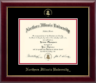 Northern Illinois University Diploma Frame - Gold Embossed Diploma Frame in Gallery