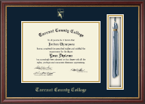 Tarrant County College Diploma Frame - Tassel Edition Diploma Frame in Newport