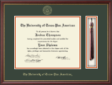 The University of Texas Pan American Diploma Frame - Tassel Edition Diploma Frame in Newport