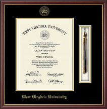 West Virginia University Diploma Frame - Tassel Edition Diploma Frame in Newport