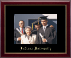 Indiana University Bloomington Photo Frame - Gold Embossed Photo Frame in Galleria