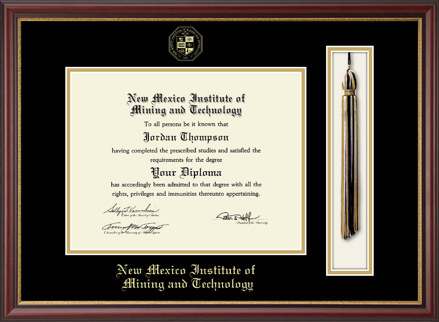 New Mexico Institute Of Mining Amp Technology Tassel Diploma