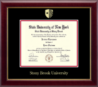 Stony Brook University Diploma Frame - Gold Embossed Diploma Frame in Gallery