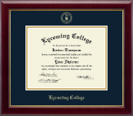 Lycoming College Diploma Frame - Gold Embossed Diploma Frame in Gallery
