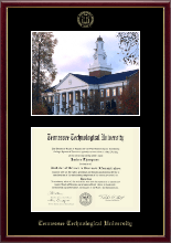 Tennessee Technological University Diploma Frame - Campus Scene Diploma Frame in Galleria