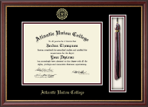 Atlantic Union College Diploma Frame - Tassel Diploma Frame in Newport