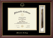 Pikeville College Diploma Frame - Tassel Edition Diploma Frame in Newport