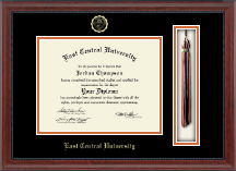 East Central University Diploma Frame - Tassel Edition Diploma Frame in Signature