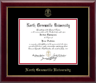 North Greenville University Diploma Frame - Gold Embossed Diploma Frame in Gallery