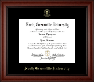 North Greenville University Diploma Frame - Gold Embossed Diploma Frame in Cambridge