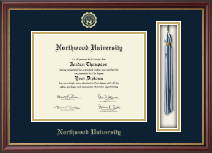 Northwood University in Texas Diploma Frame - Tassel Edition Diploma Frame in Newport