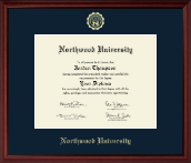 Northwood University in Texas Diploma Frame - Gold Embossed Diploma Frame in Camby