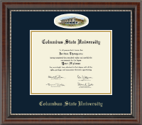 Columbus State University Diploma Frame - Campus Cameo Diploma Frame in Chateau