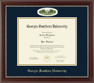 Georgia Southern University Diploma Frame - Campus Cameo Diploma Frame in Chateau