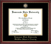 Kennesaw State University Diploma Frame - Masterpiece Medallion Diploma Frame in Kensington Gold