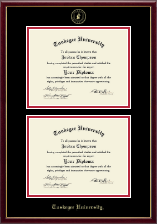 Tuskegee University Diploma Frame - Double Diploma Frame in Galleria