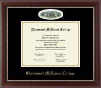 Claremont McKenna College Diploma Frame - Campus Cameo Diploma Frame in Chateau