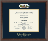 Auburn University Diploma Frame - Campus Cameo Diploma Frame in Chateau
