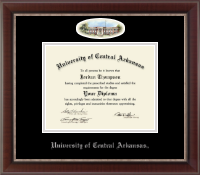 University of Central Arkansas Diploma Frame - Campus Cameo Diploma Frame in Chateau
