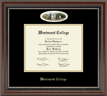 Westmont College Diploma Frame - Campus Cameo Diploma Frame in Chateau