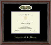 University of St. Thomas Diploma Frame - Campus Cameo Diploma Frame in Chateau