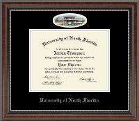 University of North Florida Diploma Frame - Campus Cameo Diploma Frame in Chateau