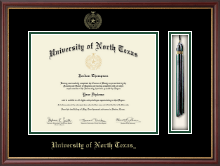 University of North Texas Diploma Frame - Tassel Edition Diploma Frame in Newport