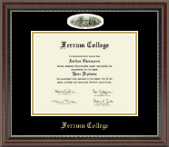 Ferrum College Diploma Frame - Campus Cameo Diploma Frame in Chateau