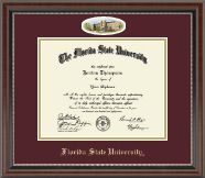 Florida State University Diploma Frame - Campus Cameo Diploma Frame in Chateau