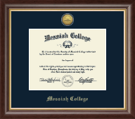 Messiah College Diploma Frame - Gold Engraved Diploma Frame in Hampshire