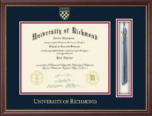 University of Richmond Diploma Frame - Tassel Edition Diploma Frame in Newport