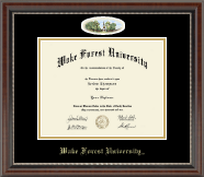 Wake Forest University Diploma Frame - Campus Cameo Diploma Frame in Chateau